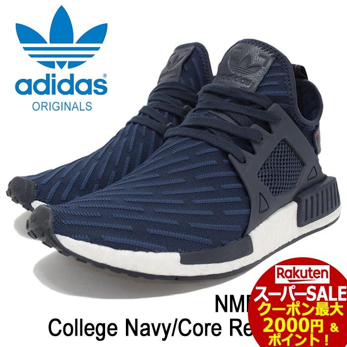 d8c1f1d29 Men s Shoes Adidas NMD XR1 PK Core Black Red BA7214 PrimeKnit Mens Trainers
