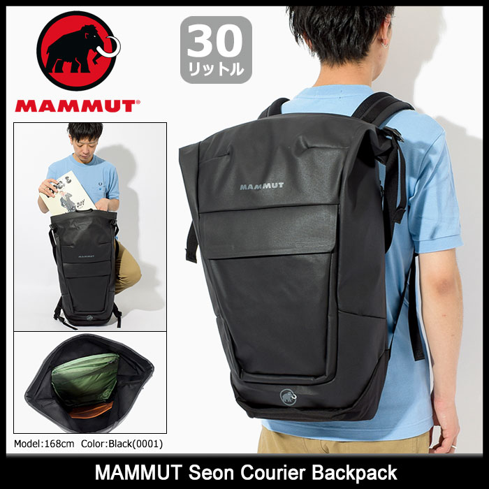 マムート MAMMUT リュック セオン クーリエ バックパック(mammut Seon Courier Backpack Bag バッグ Daypack デイパック 普段使い 通勤 通学 ビジネス メンズ レディース ユニセックス 男女兼用 2510-03900)