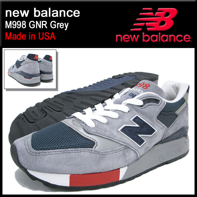 cb9ec448d408 New Balance new balance sneakers M998 GNR Grey maid in USA men (for the man)  (NEWBALANCE M998 GNR gray Made in USA Sneaker sneaker SNEAKER MENS