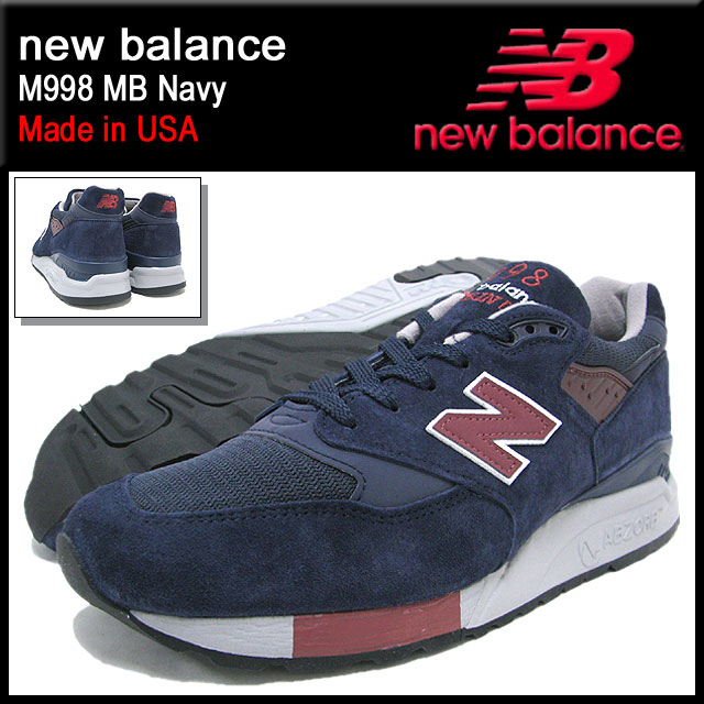 ... promo code new balance new balance sneakers m998 mb navy maid in usa  men male business 09f42c258f