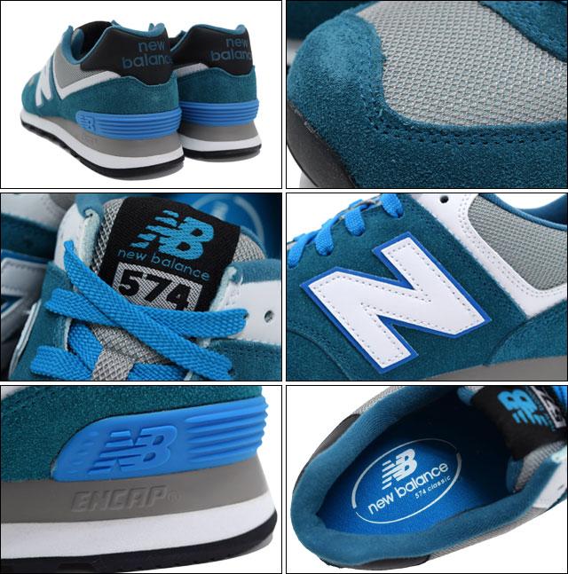 New Balance new balance sneakers ML574 CPD BlueGrey men (for the man) (new balance ML574 CPD blue gray Sneaker MENS, shoes shoes SHOES sneakers