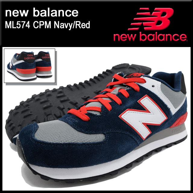 Alta qualit NEW BALANCE 574 CPM NAVY/RED