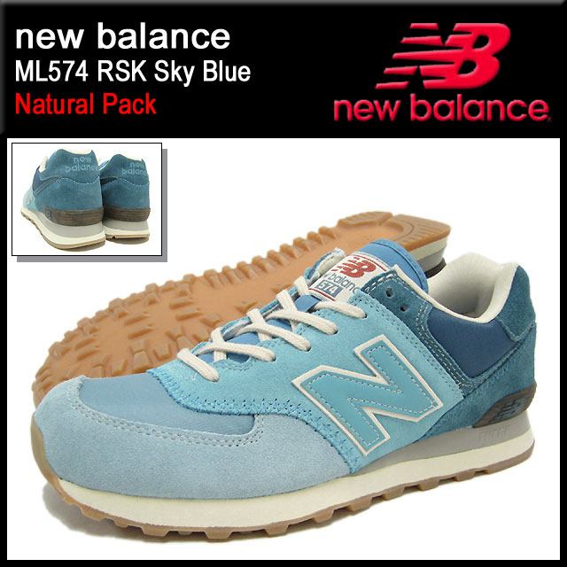 huge selection of 769c9 a6d54 New Balance new balance sneakers ML574 RSK Sky Blue Natural Pack men (for  the man) (new balance ML574 RSK Sky Blue Natural Pack Sneaker sneaker ...