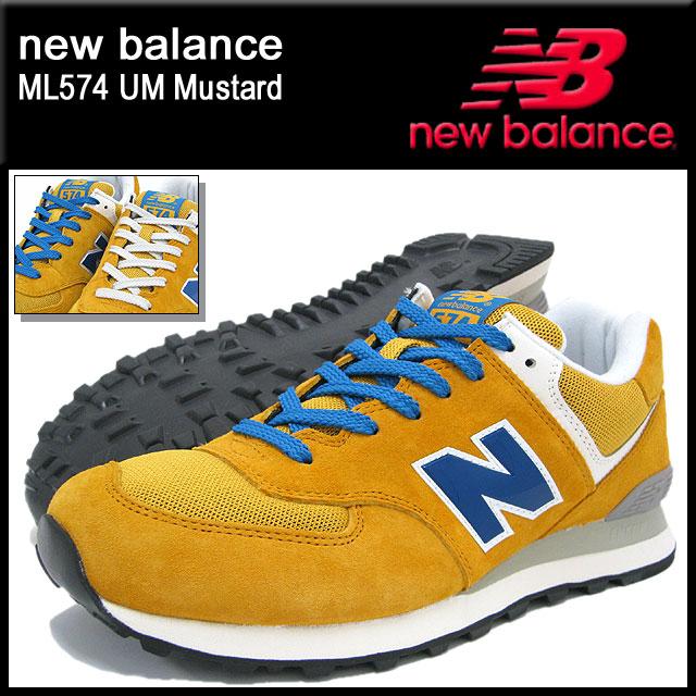 new balance m574 mustard