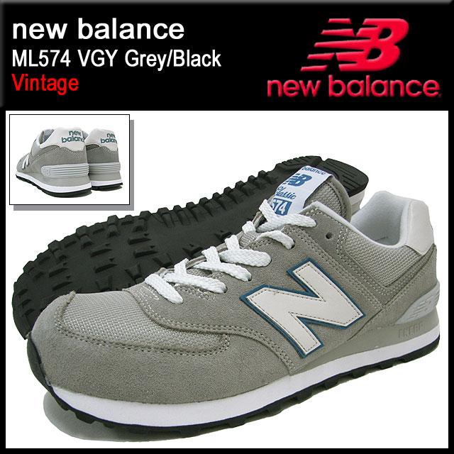 新平衡新平衡运动鞋 ML574 VGY 灰色/黑色复古男式 (男士) (新平衡 ML574 VGY 灰色/黑色运动鞋运动鞋运动鞋男装鞋鞋鞋运动鞋 ML574 VGY) 冰提起的冰原