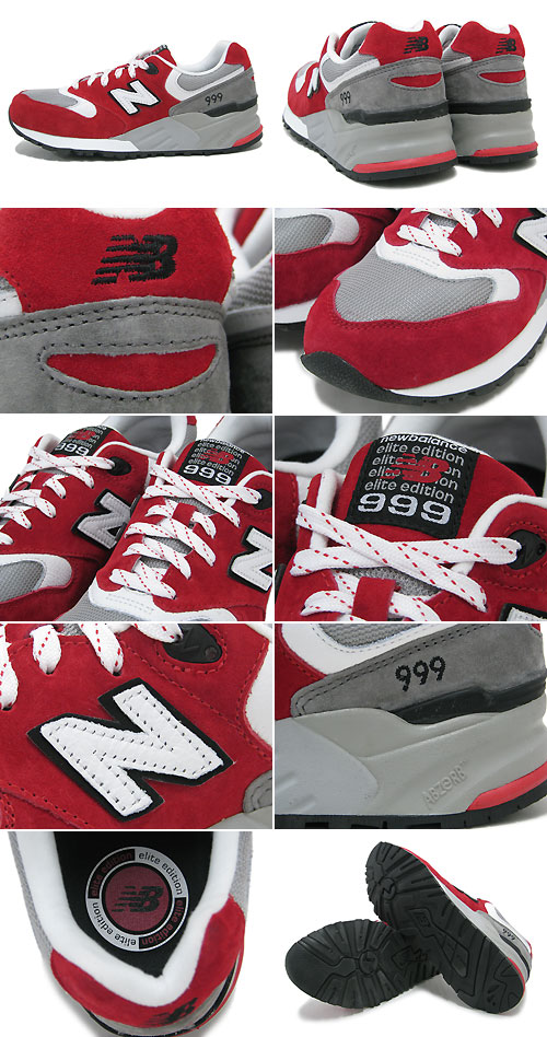 new balance 999 men red