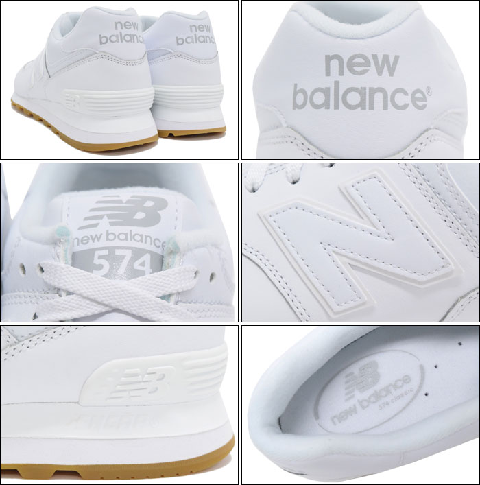hot sale online b180d a42e6 NB574 BAA White(NEWBALANCE NB574 BAA white white SNEAKER MENS, shoes shoes  SHOES NB574-BAA) ice filed icefield for the New Balance new balance ...