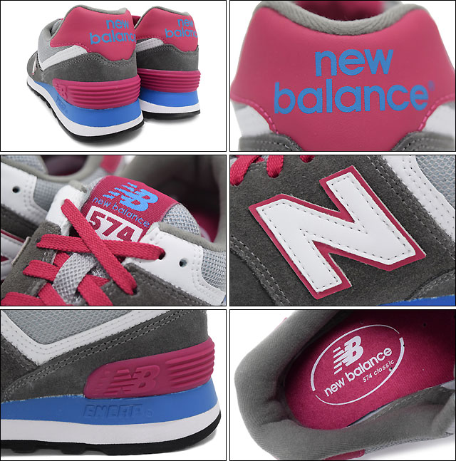 New Balance new balance sneakers WL574 CPW Grey Pink Lady s (for the woman)  (new balance WL574 CPW gray   pink Sneaker LADIES e4361bd542