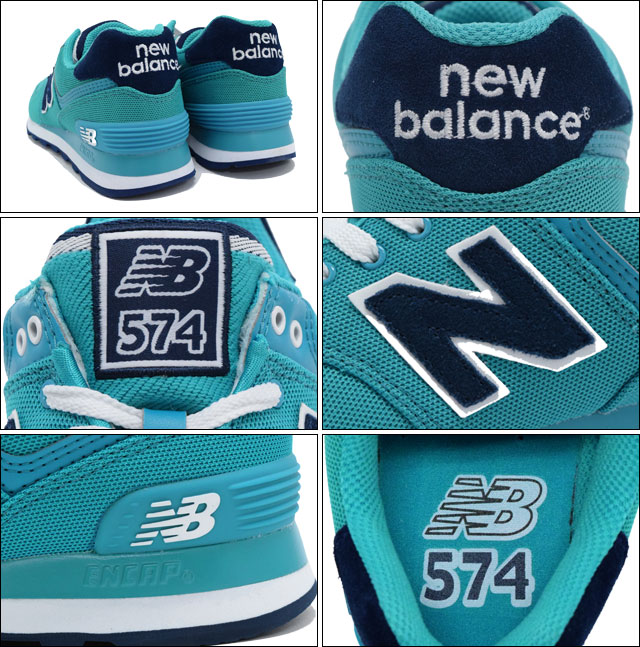 new balance wl574 aquamarine