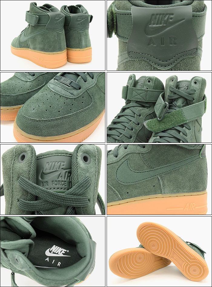 Nike Air Force 1 High 07 LV8 Suede Vintage Green AA1118 300