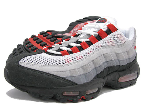 the best attitude b94e9 25af7 Nike NIKE sneakers Air Max 95 WhiteRedGrey non future men (mens) (nike  AIR MAX 95 Non-Future Sneaker sneaker SNEAKER MENS-shoes shoes SHOES  sneaker ...