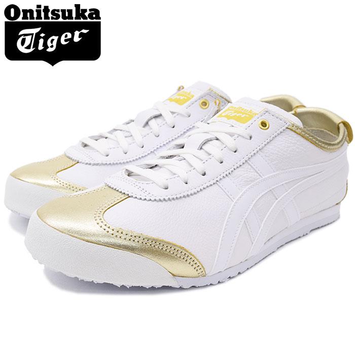 オニツカタイガー Onitsuka Tiger スニーカー メンズ 男性用 メキシコ 66 Rich Gold/White(Onitsuka Tiger MEXICO 66 ホワイト 白 SNEAKER MENS・靴 シューズ SHOES 1183A033-200) ice filed icefield, 長谷村 d203fa33