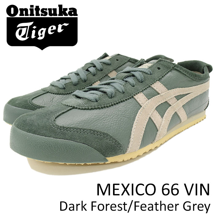 outlet store 819f5 4325d Mexican 66 vintage Dark Forest/Feather Grey(Onitsuka Tiger MEXICO 66 VIN  Midori Green SNEAKER MENS, shoes shoes SHOES D2J4L-8212) ice filed icefield  ...