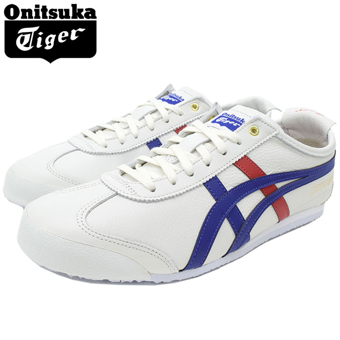 low priced a28f6 f4534 Mexican 66 White/Dark Blue(Onitsuka Tiger MEXICO 66 white white SNEAKER  MENS, shoes shoes SHOES D507L-0152 for the Onitsuka tiger Onitsuka Tiger ...