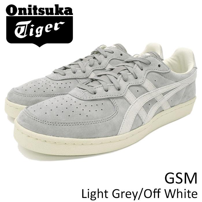 オニツカタイガー Onitsuka Tiger スニーカー メンズ 男性用 ジーエスエム Light Grey/Off White(Onitsuka Tiger GSM グレー 灰 SNEAKER MENS・靴 シューズ SHOES D5K1L-1399 TH5K1L-1399)