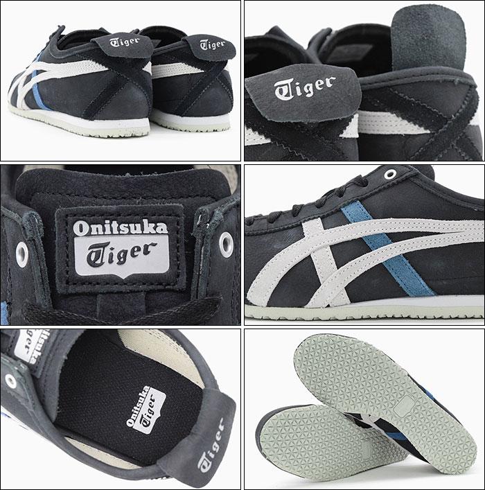 onitsuka tiger mexico 66 black glacier grey quality sale