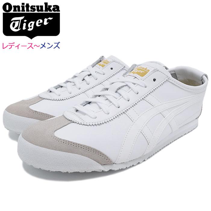 オニツカタイガー Onitsuka Tiger スニーカー レディース & メンズ メキシコ 66 White/White(Onitsuka Tiger MEXICO 66 ホワイト 白 SNEAKER LADIES MENS・靴 シューズ SHOES DL408-0101) ice filed icefield