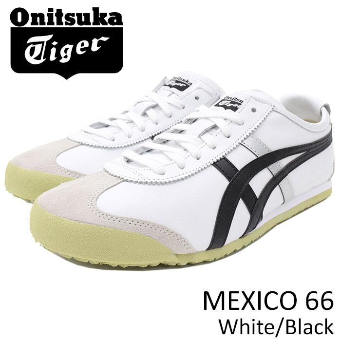 オニツカタイガー Onitsuka Tiger スニーカー メンズ 男性用 メキシコ 66 White/Black(Onitsuka Tiger MEXICO 66 ホワイト 白 SNEAKER MENS・靴 シューズ SHOES DL408-0190)