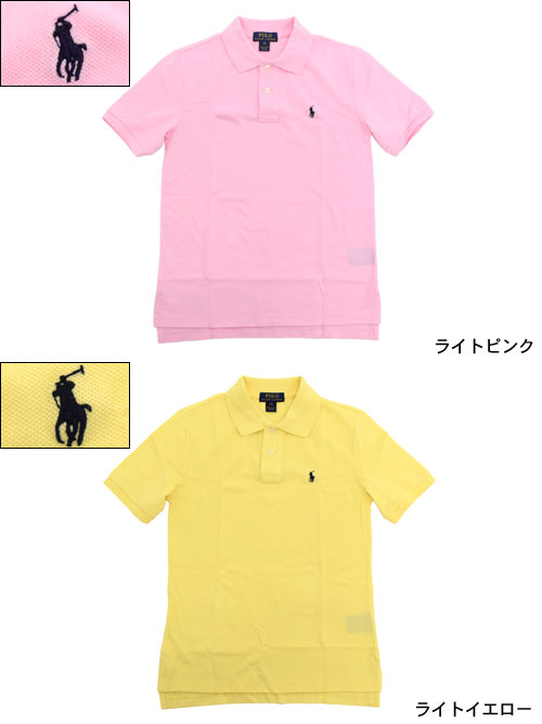 ... Polo Ralph Lauren POLO RALPH LAUREN polo shirt short sleeve boys model  ladies and mens for ...
