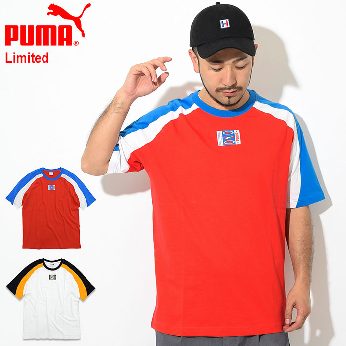 620a19ab87f09 Limited (579517 for the PUMA 90s Retro S/S Tee Limited big silhouette over  size T-shirt T-SHIRTS cut-and-sew tops men man) [M service 1/1] ice filed  ...
