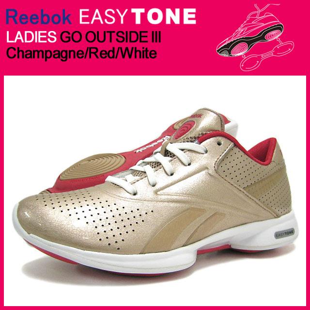 Outside Champagneredwhite Iii J83954 Easytone Lady's 3 The For reebok Tone Reebok Easy Ladies Go f6gbIY7yv