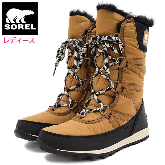 ソレル SOREL ブーツ レディース 女性用 ウィットニー トール レース 2 Camel Brown ウィメンズ(Sorel WHITNEY TALL LACE II WOMENS 防水 Boot Boots スノー・ブーツ ウィンター・ブーツ 靴・ブーツ soreru Ladys ウーマンズ ブラウン 茶 NL3085-224)