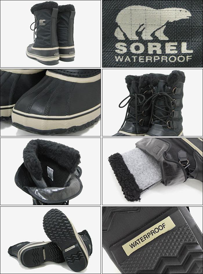 fe4cbc72ef9 (Sorel 1964 PAC NYLON Black/Tusk Boot Boots snow boots winter, boots shoes  & boots Sorel sorel soreru MENS NM1440-011) a Black/Tusk men's men nylon ...