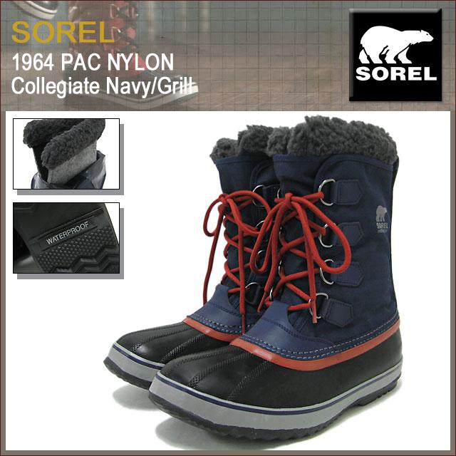 Men's Shoes Sorel 1964 Pac Nylon Mens
