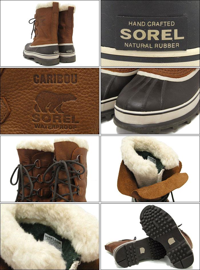 氯氧镁镁质胶凝靴男人的驯鹿羊毛烟草镁质胶凝驯鹿 WL 防水的靴子靴子雪,冬天靴子的鞋子靴子 (靴子 soreru 男装布朗茶 NM1481 256) 冰提起冰原 05P05Nov16