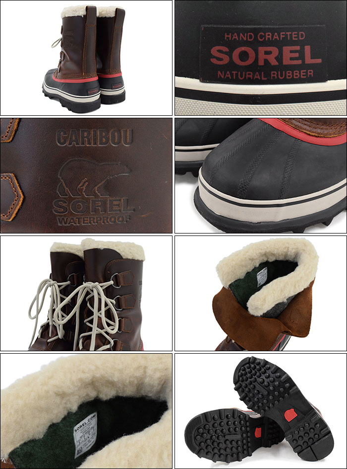 a335822d443 Caribou wool Burro(Sorel CARIBOU WL waterproofing Boot Boots Snow boots  winter boots shoes for the Sorrel SOREL boots men man, boots soreru MENS  brown ...