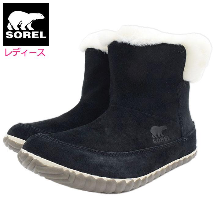 10%OFF レディース ソレル ブーツ SOREL OUT N ABOUT BOOTIE Black WOMENS 送料無料 スノーブーツ 女性用 アウト アンド スノー Ladys 贈呈 靴 soreru ウィンター ウィメンズ Sorel 2020FW ブラック Boot Boots NL3073-011 黒 ブーティー ウーマンズ アバウト 内祝い