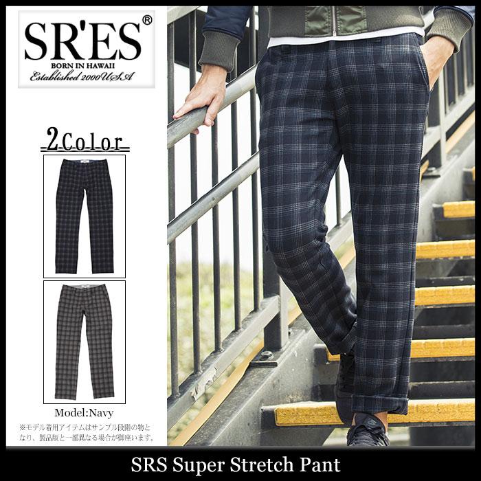 エスアールエス SRES パンツ メンズ スーパー ストレッチ(SRS Super Stretch Pant ボトムス プロジェクトエスアールエス) ice filed icefield