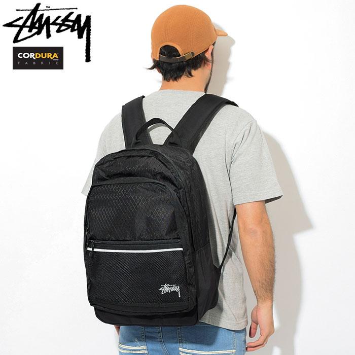 ステューシー STUSSY リュック Diamond Ripstop(stussy backpack バックパック Daypack デイパック Bag バッグ 普段使い 通勤 通学 旅行 メンズ レディース ユニセックス 男女兼用 133021 USAモデル 正規 品 ストゥーシー スチューシー 小物)