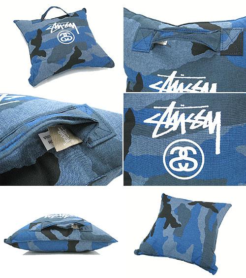 suteyushi STUSSY Stock Lock靠垫(供stussy Pillow枕头人、男性使用的0380241朱熹小东西)ice filed icefield