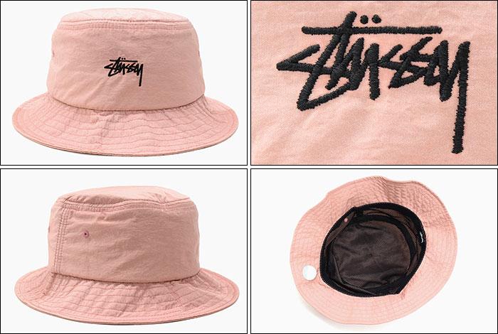 ステューシー STUSSY バケット ハット Nylon Taslan Bucket Hat 帽子stussyhat メンズ・男性用 132926 USAモデル 正規 品 ストゥーシー スチューシーice field icefieldIWD2HE9