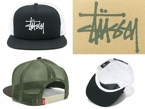 031798 stew sea) ice filed icefield for ステューシー STUSSY Mil Trucker cap ( stussy cap mesh cap men 121eb07acd0