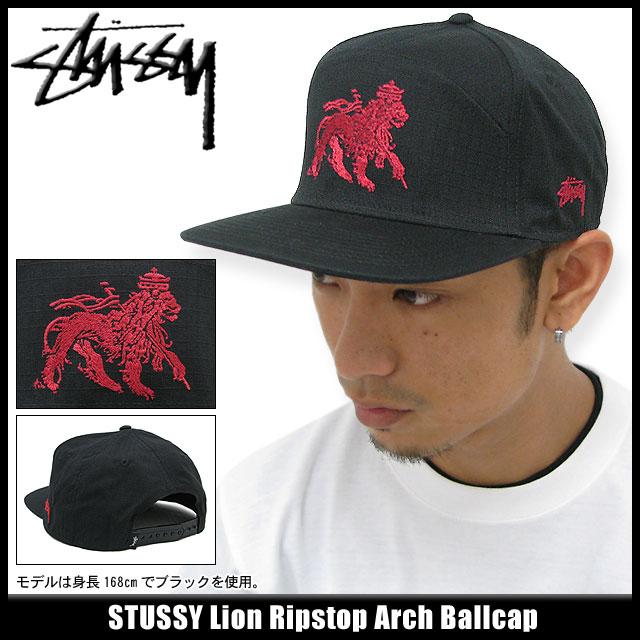 12921530ceb 131251 hat bousi Stussy stussy Stu sheath Zhu Xi) ice filed icefield for  ステューシー STUSSY cap Lion Ripstop Arch cap (stussy Stussy cap cap snapback  men