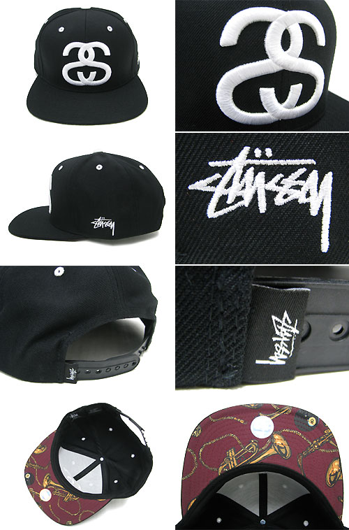 ice field  Double S Snapback CAP 73c7582383e