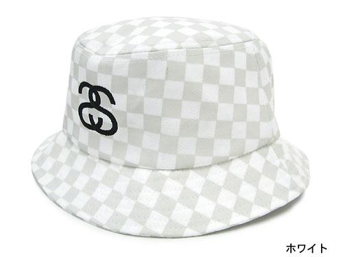 c4b3498822981 132505 hat bousi Stussy stussy Stu sheath Zhu Xi) ice filed icefield for  ステューシー STUSSY Checkerboard Bucket hat (stussy hat Stussy HAT hat men