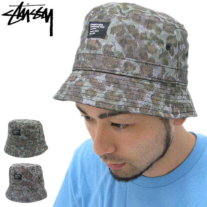3be4fd30849 ice field  Stussy STUSSY Cheetah Camo Bucket hat (stussy hat Stussy ...