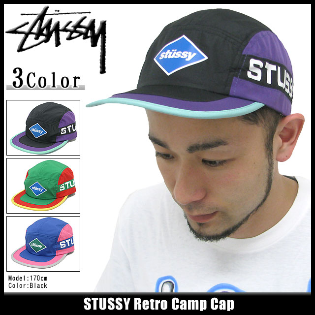 Stussy STUSSY 帽帽子复古野营帽 (对于男人来说,男性 132542 Stussy stussy Stussy Steacy)