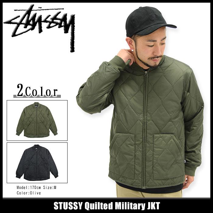 ステューシー STUSSY ジャケット メンズ Quilted Military(stussy JKT キルティングジャケット ミリタリージャケット JACKET JAKET アウター ジャンパー・ブルゾン メンズ・男性用 115272 USAモデル 正規 品 ストゥーシー スチューシー)