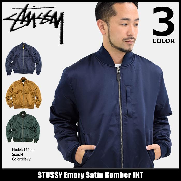 激安セール】 ボンバージャケット JKT Bomber(stussy Satin