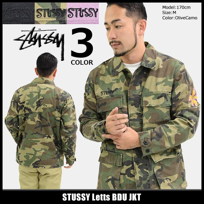 ステューシー STUSSY ジャケット メンズ Letts BDU(stussy JKT ミリタリージャケット JACKET JAKET アウター ジャンパー・ブルゾン メンズ・男性用 115362 USAモデル 正規 品 ストゥーシー スチューシー)
