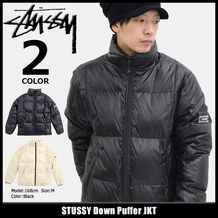 ステューシー STUSSY ジャケット メンズ Down Puffer(stussy JKT ダウンジャケット ダウン JACKET JAKET アウター ジャンパー・ブルゾン メンズ・男性用 115370 USAモデル 正規 品 ストゥーシー スチューシー)