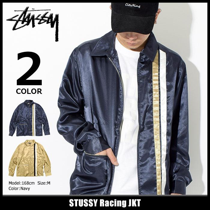 ステューシー STUSSY ジャケット メンズ Racing(stussy JKT サテン レーシングジャケット JACKET JAKET アウター ジャンパー・ブルゾン メンズ・男性用 115382 USAモデル 正規 品 ストゥーシー スチューシー)
