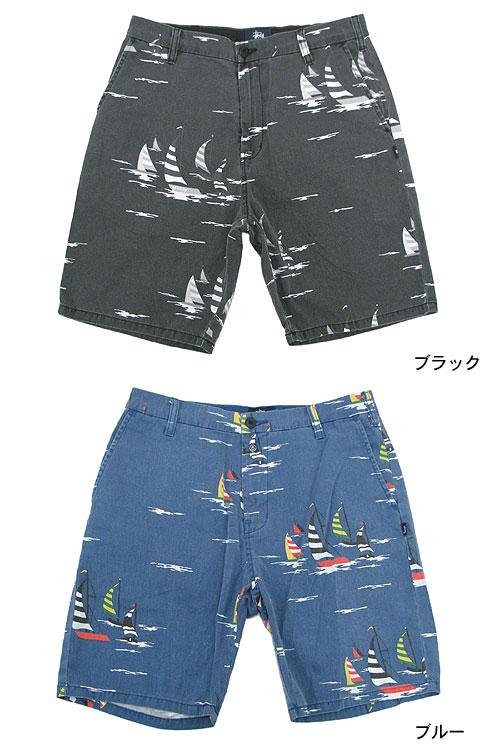 Stussy STUSSY 帆船的短裤 (stussy 短裤子短裤热裤短裤底部男装,男装 112102 Steacy) 冰提起的冰原