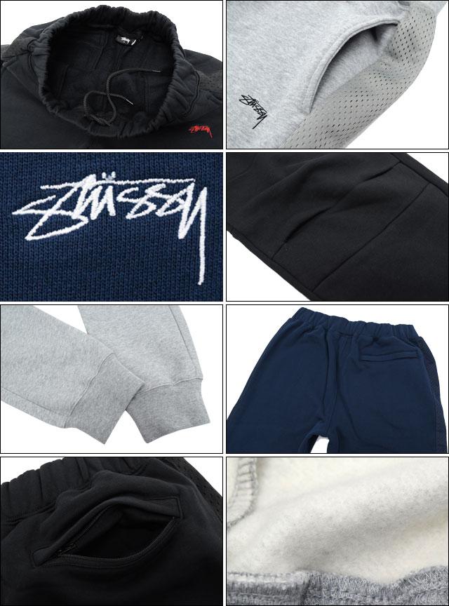 377e44fbf6 Stussy STUSSY pants mens Flight Fleece (stussy pant sweat pants sweatpants  bottoms mens, mens 116241 Stussy Steacy) ice filed icefield
