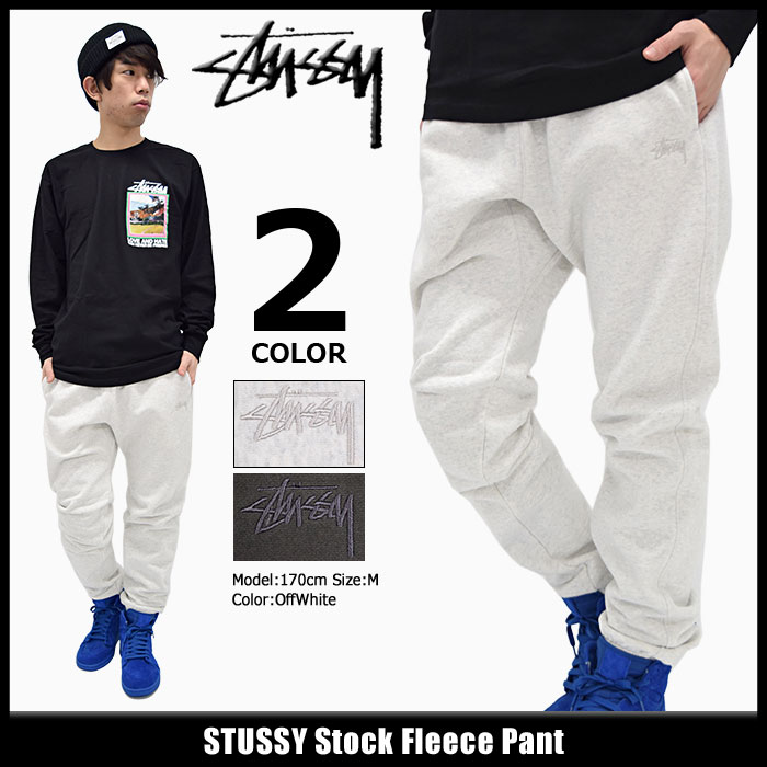 Stussy STUSSY 培训的羊毛裤 (汗裤裤男子 stussy Stussy 裤子战警底部 116231 Stussy stussy Stussy Steacy) 冰提起冰原