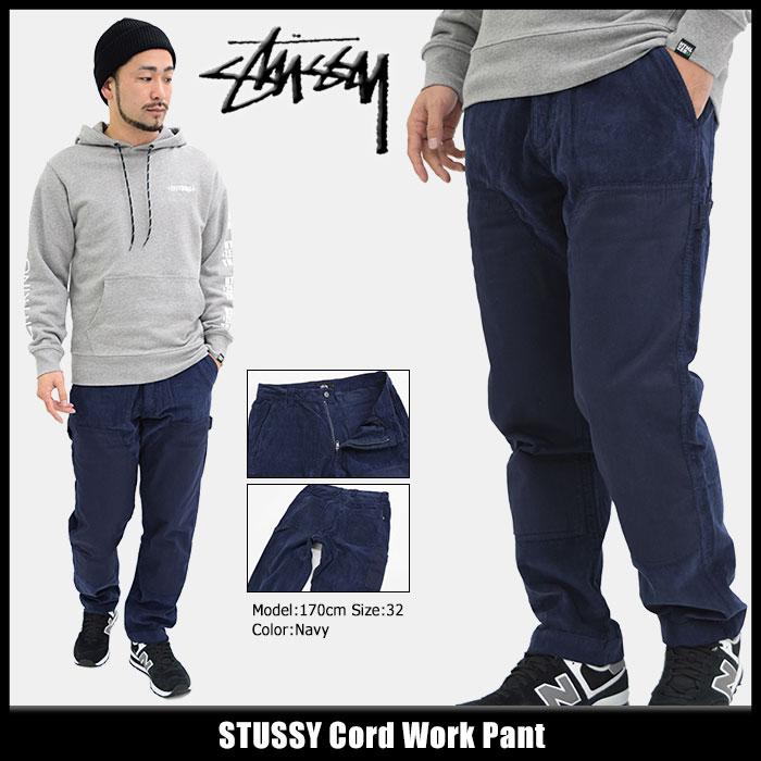 ステューシー STUSSY パンツ メンズ Cord Work(stussy pant コーデュロイ ワークパンツ ボトムス メンズ・男性用 116331 USAモデル 正規 品 ストゥーシー スチューシー)